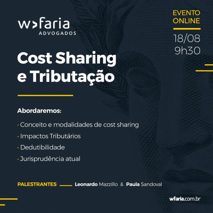 Cost Sharing e Tributação – Aspectos Controvertidos e Atualidades